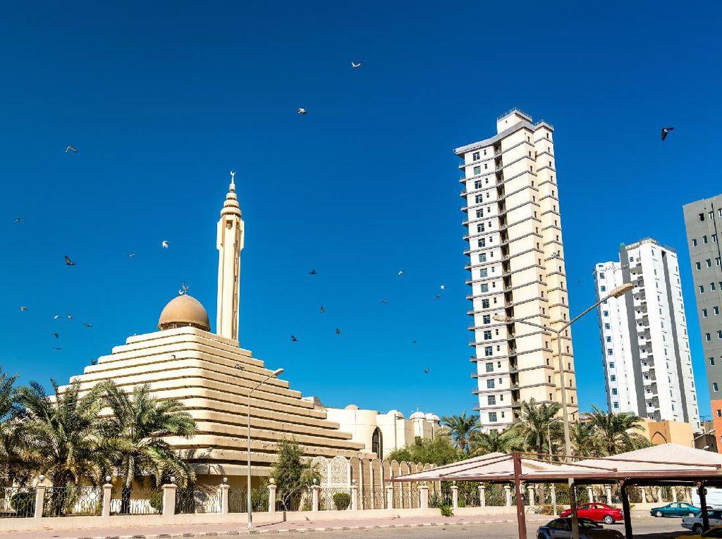 Masjid Piramida Ini Bukan di Mesir, tapi di Kuwait