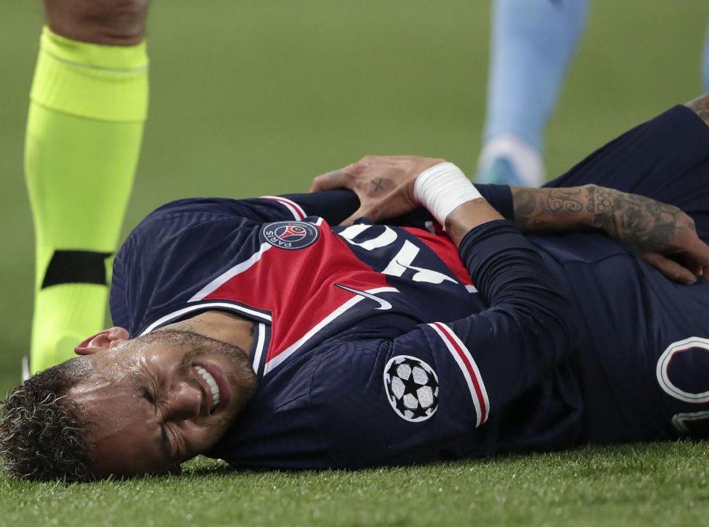 PSG Vs Man City: Aksi Neymar Bikin Geram Liam Gallagher