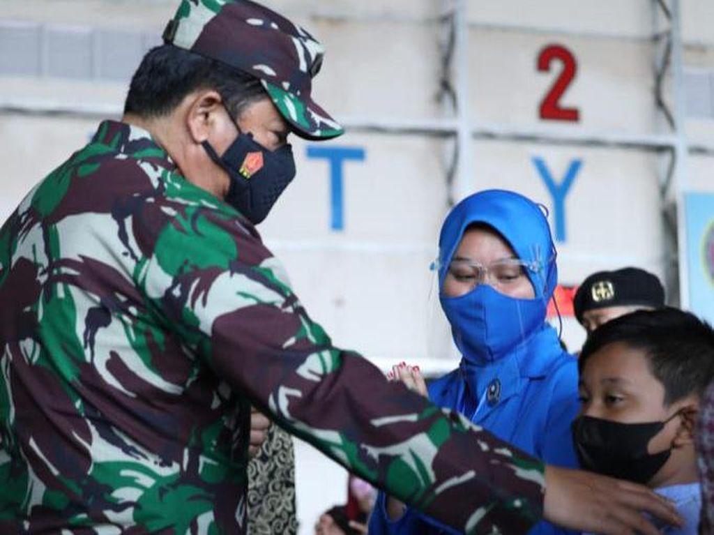 TNI Akan Bangunkan Rumah untuk Keluarga Kru Nanggala-402