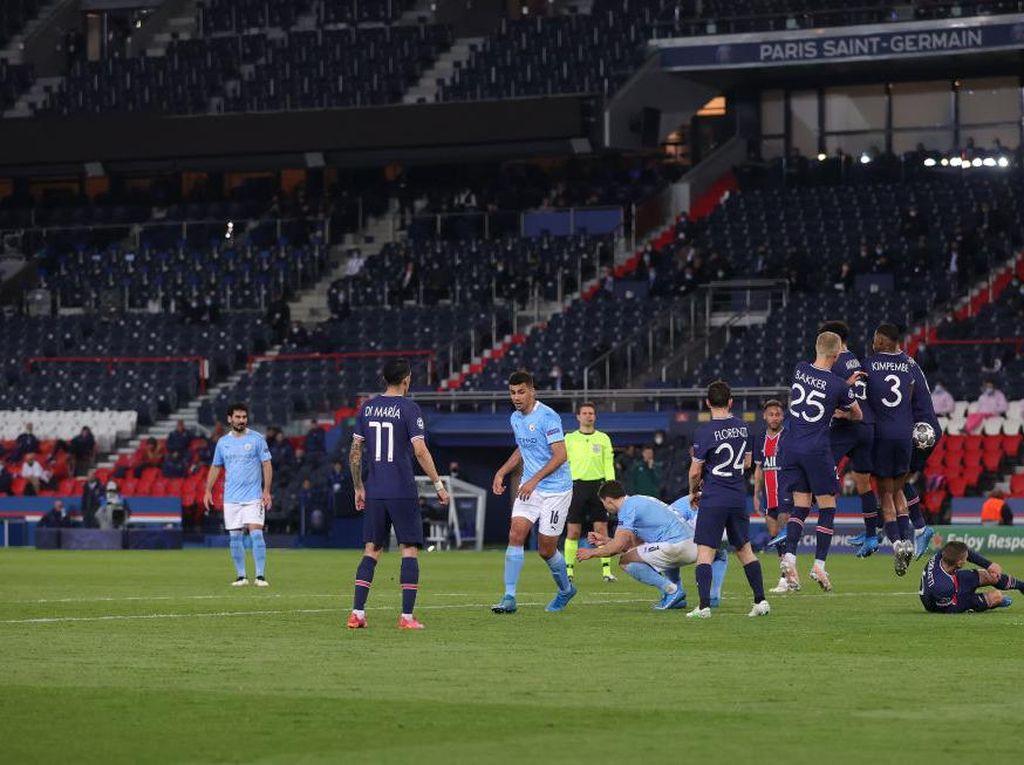 PSG Vs Man City: Mahrez Beruntung Cetak Gol Kedua The Citizens