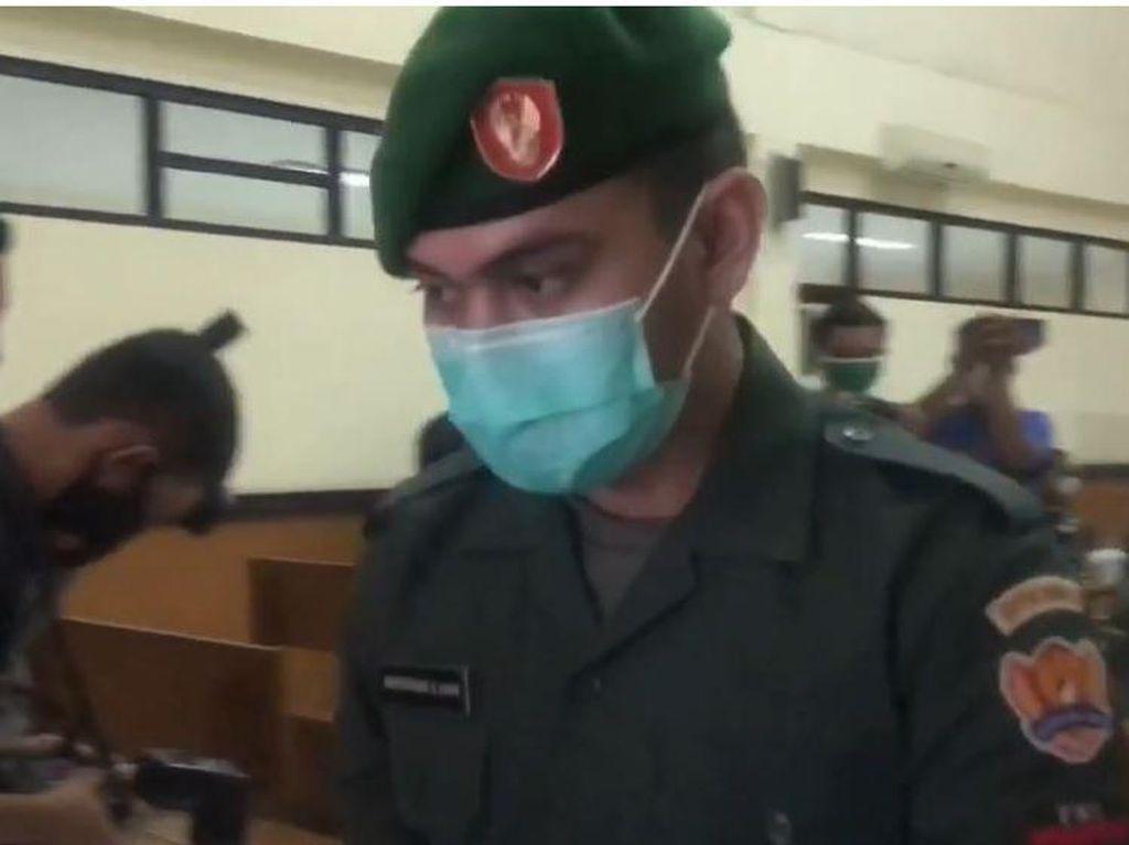 Prada Ilham Divonis 1 Tahun Bui dan Dipecat dari TNI