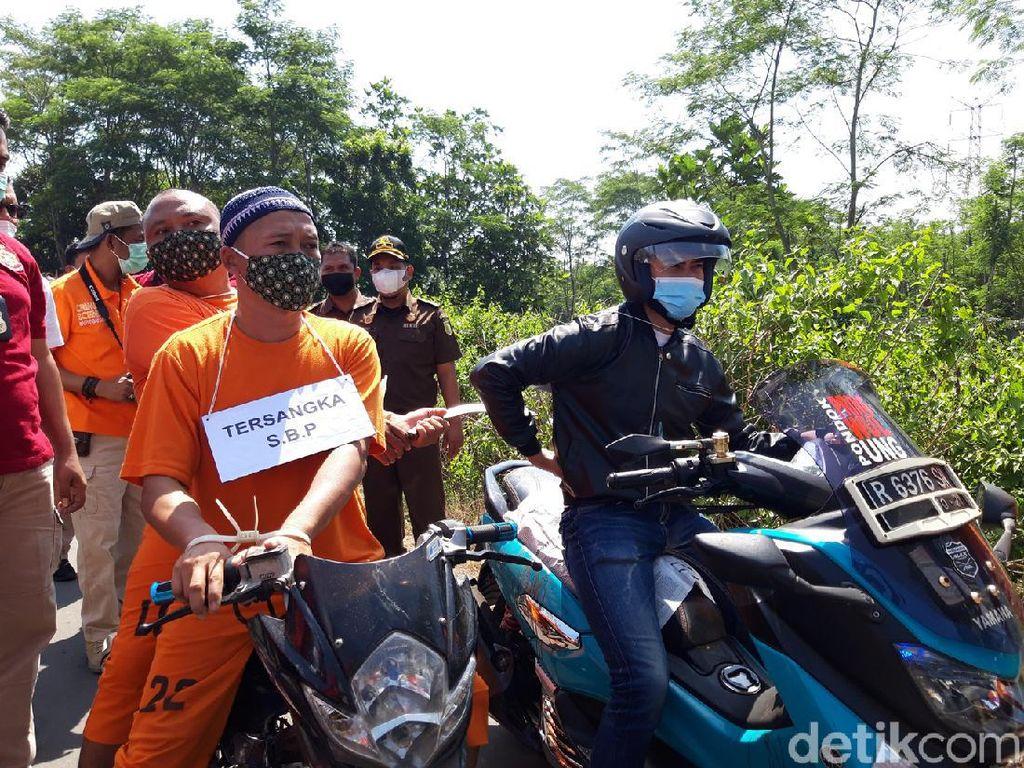 Pembacokan Brutal Pegawai Pertamina di Boyolali Direkonstruksi