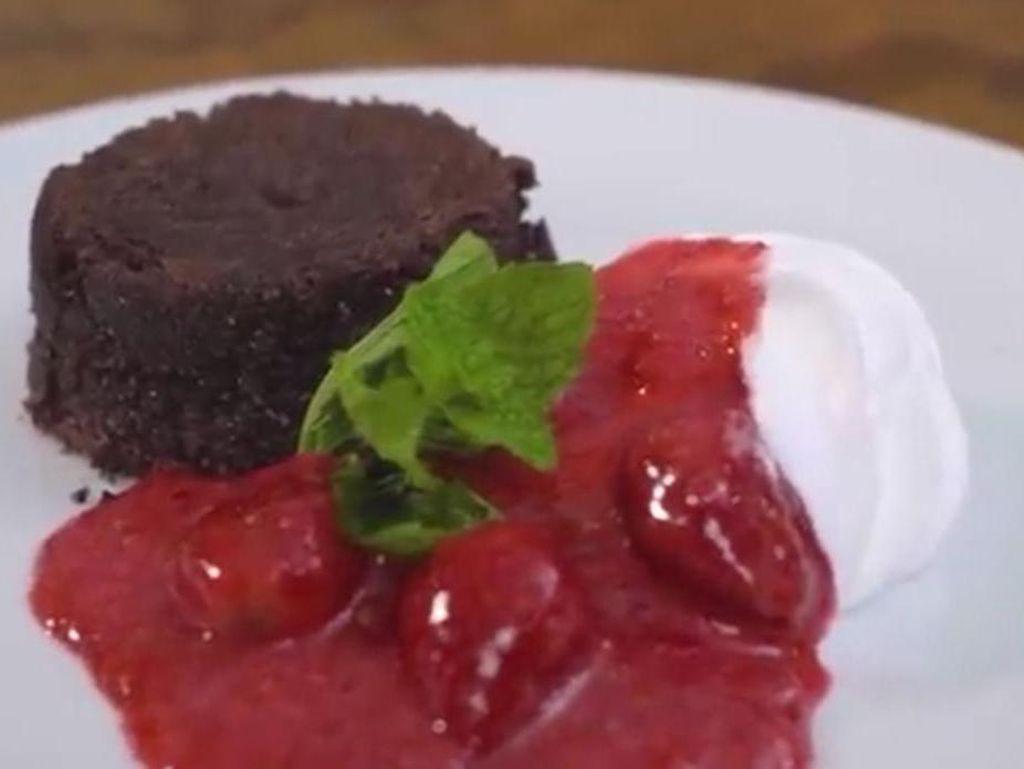 Resep Molten Lava Cake Panggang yang Mudah dan Lumer di Mulut