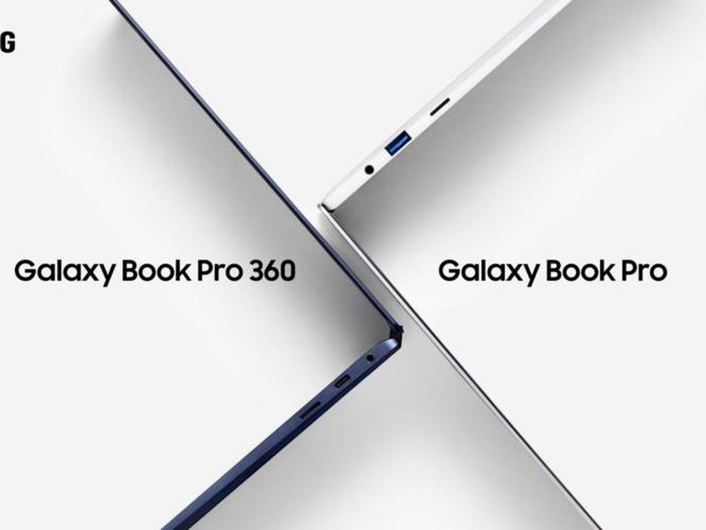 Samsung Rilis 4 Laptop Galaxy Book Pro Baru
