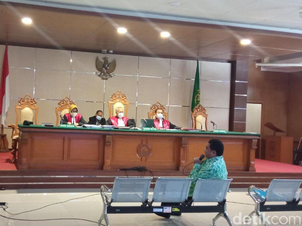 Pengakuan Terdakwa RTH Bandung soal Oknum Penyidik KPK Minta Uang