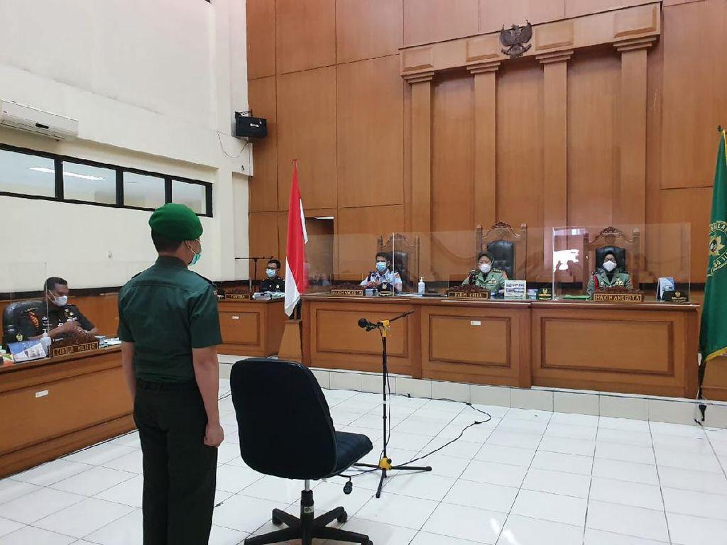 Tok! Prada Ilham Divonis 1 Tahun Penjara dan Dipecat dari TNI