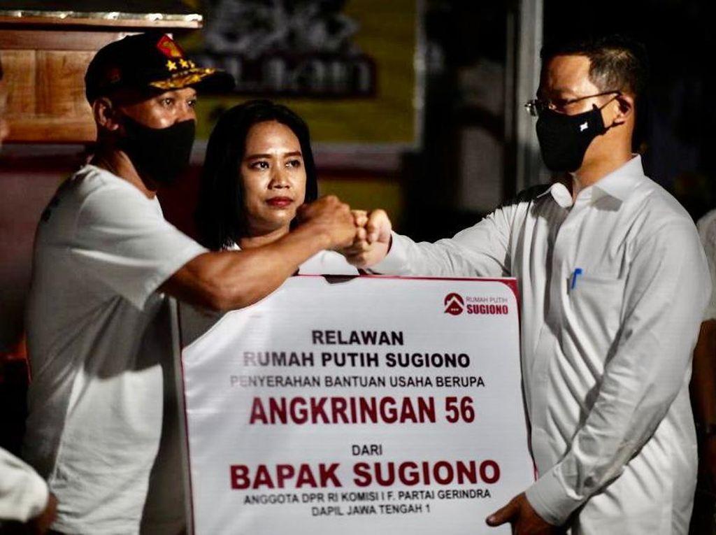 Sugiono Dukung Pengembangan UMKM Kader Gerindra
