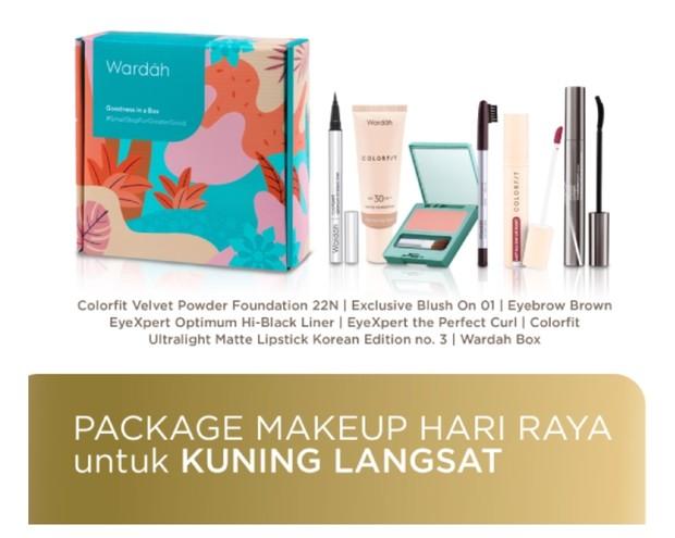 Wardah Package Makeup Hari Raya