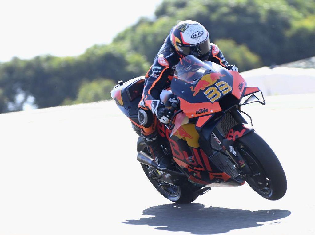 Hasil FP1 MotoGP Spanyol: Binder Tercepat, Marc Marquez Ketiga