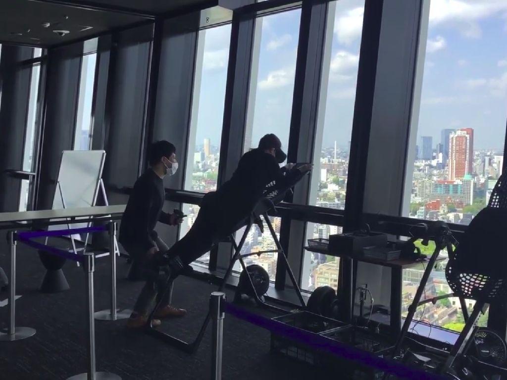 Mau Bungee Jumping tapi Takut? Sekarang Bisa Pakai Virtual Reality
