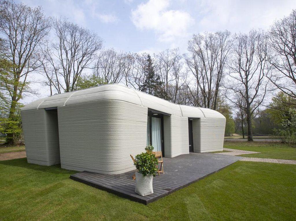 Keren Banget! Belanda Bikin Rumah Pake Printer 3 Dimensi