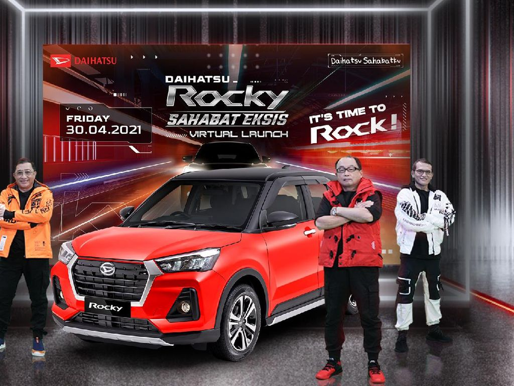 Daihatsu Rocky Meluncur di Indonesia, Harga Mulai Rp 214,2 Juta