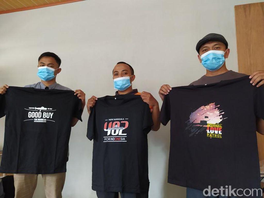 Pria Magelang Ini Jual Kaus untuk Galang Dana Pembelian Kapal Selam