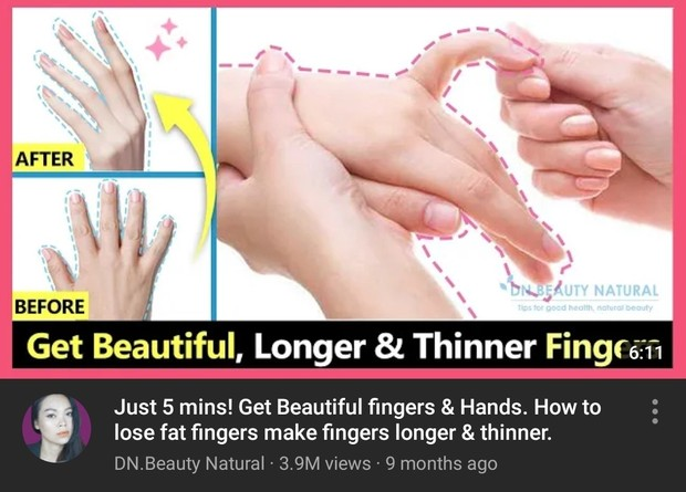 Fingers exercises DN.Beauty Natural/youtube.com