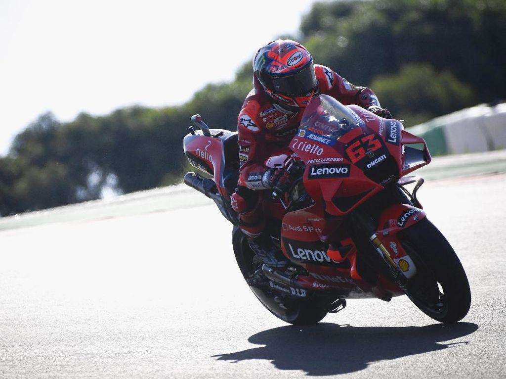 Hasil Free Practice 2 MotoGP Spanyol: Bagnaia Tercepat, Marquez ke-16