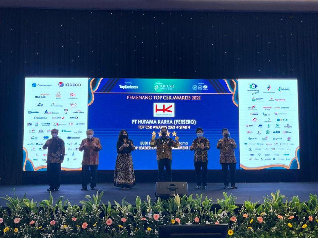Hutama Karya Group Borong Penghargaan CSR di 2021, Ini Daftarnya