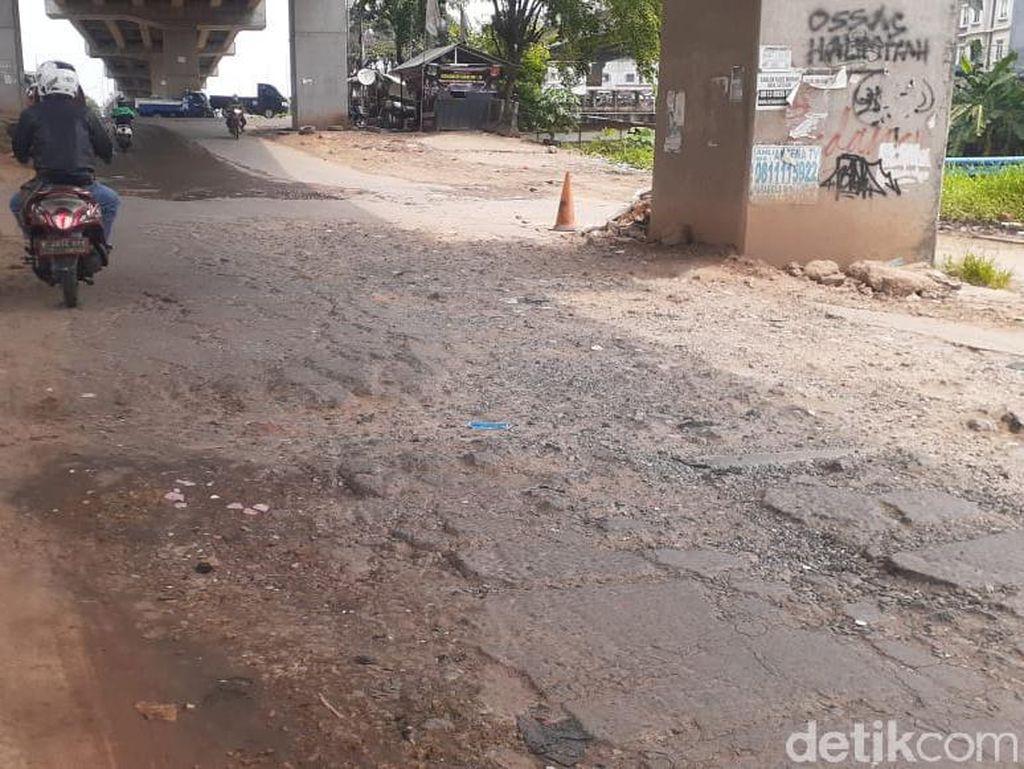 Jl Inspeksi Kalimalang Sudah Lama Rusak, Pemkot Bekasi Bakal Perbaiki