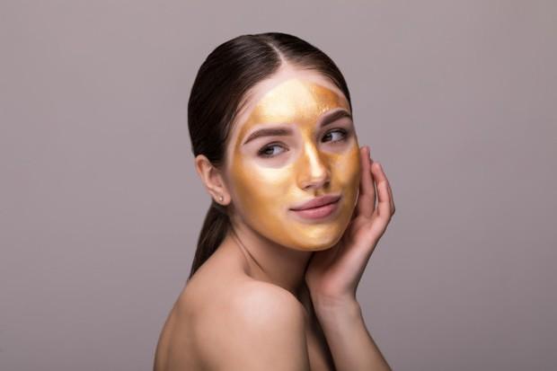 kandungan emas pada skincare
