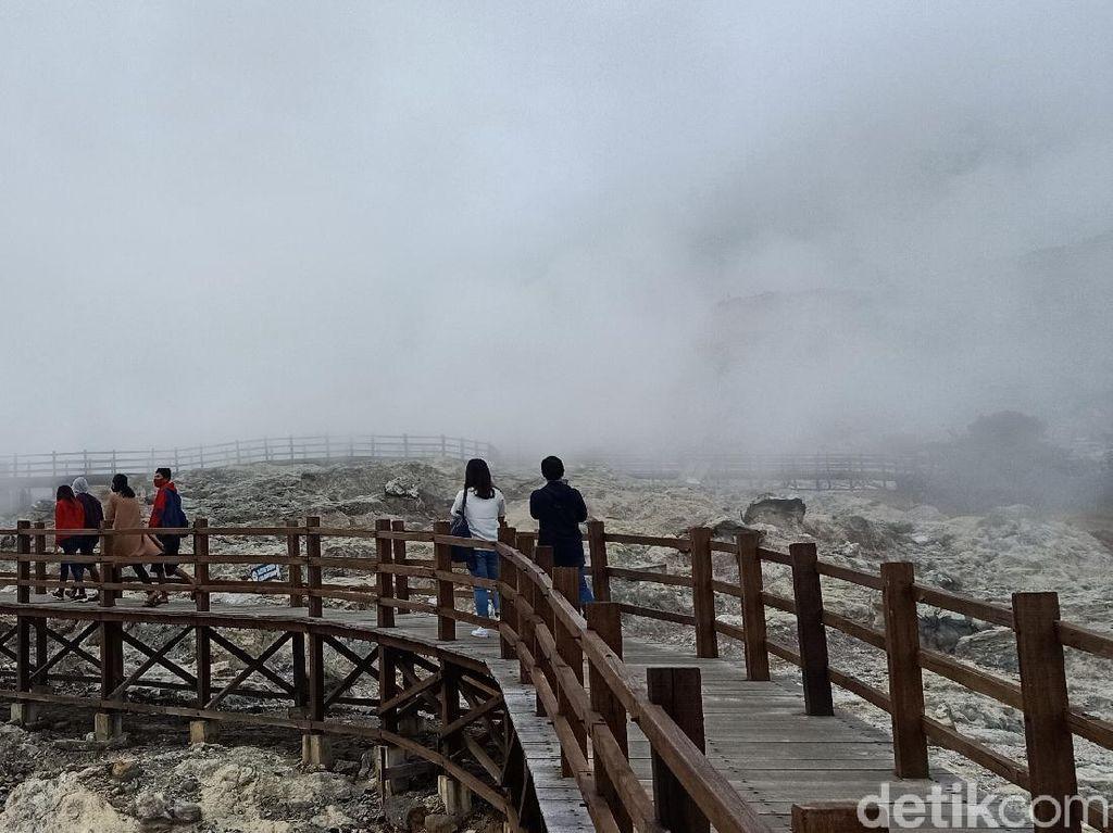 Pasca Erupsi Kawah Sileri, Obyek Wisata Lain di Dieng Tetap Buka