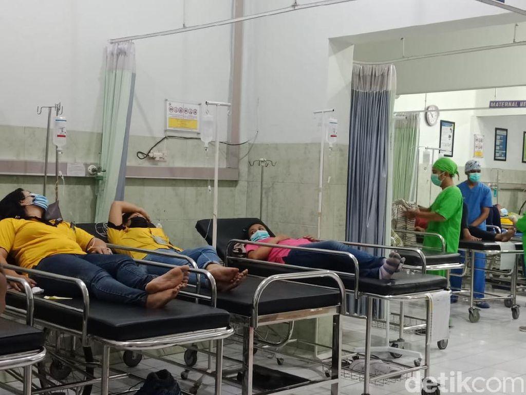 Keracunan Massal, 110 Karyawati Pabrik Sepatu di Jombang Muntah dan Diare