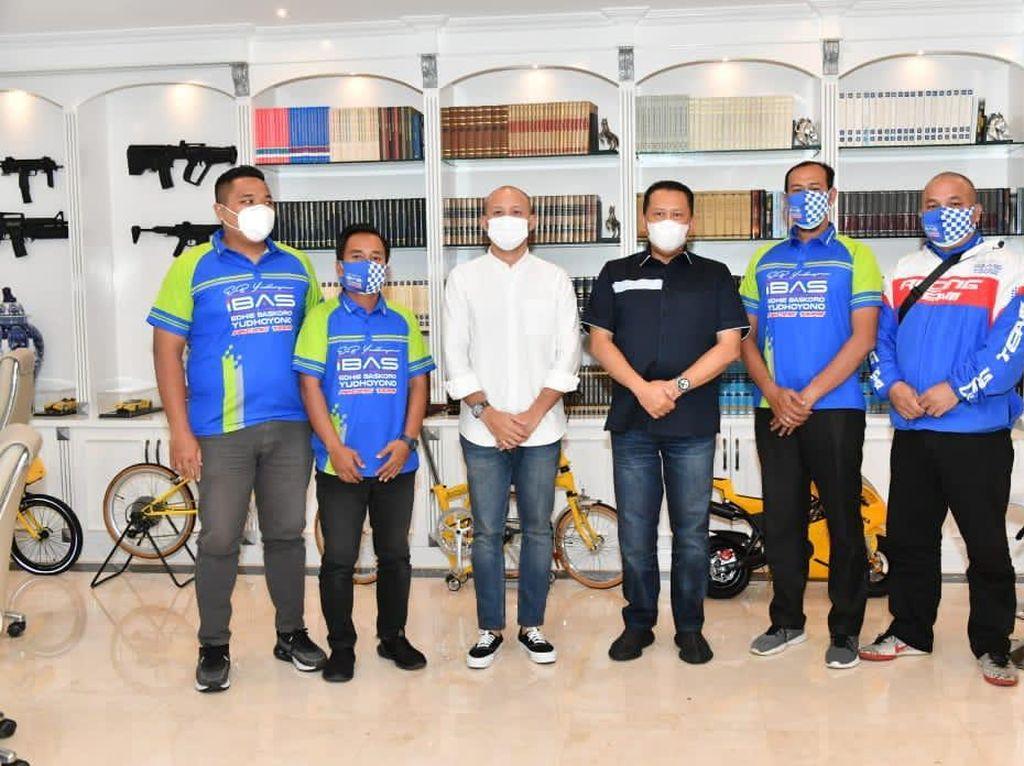 Terima Ibas Racing Team, Bamsoet Dorong Lahirnya Pembalap Wanita