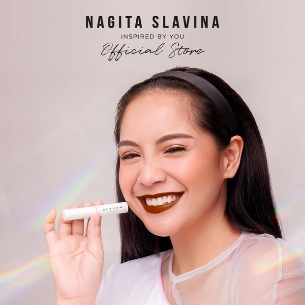 Nagita Slavina Cosmetics hadir dengan tagline yang positif/instagram.com/nagitaslavinacosmetics