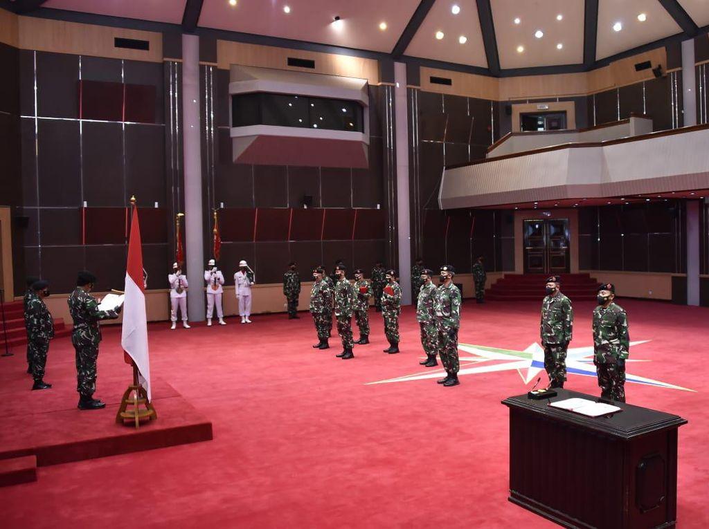 Panglima TNI Pimpin Sertijab Kapuspen Hingga Asops Panglima