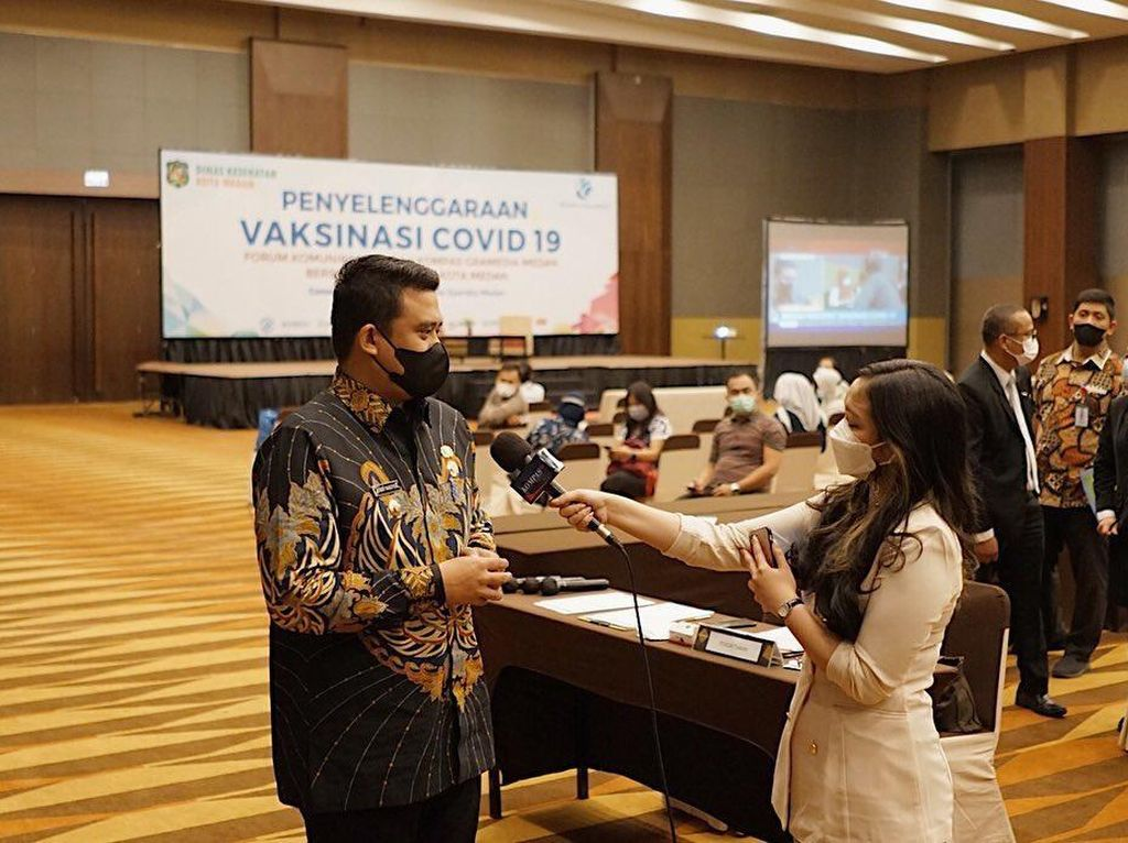 Usai Reformasi Dinkes, Bobby Harap Medan Jadi Zona Hijau COVID-19