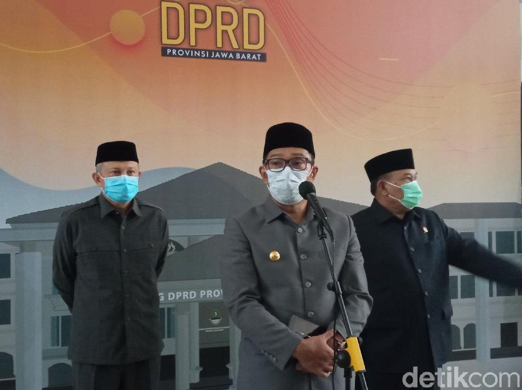 Ridwan Kamil Larang Warga Silaturahmi ke Rumah Tetangga Usai Salat Id