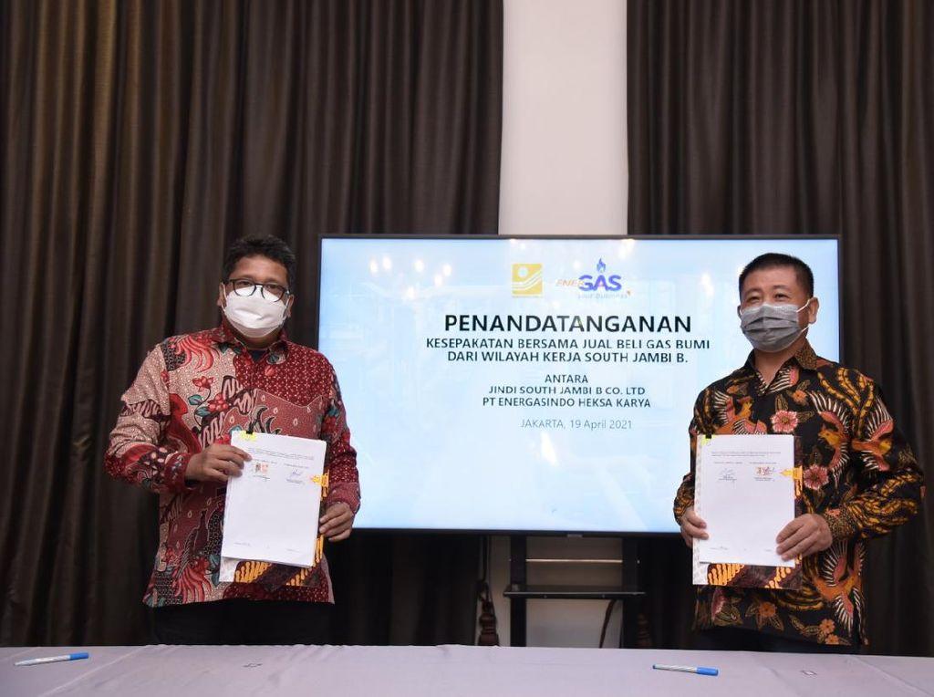 Anak RAJA Amankan Alokasi Gas di Sumatera