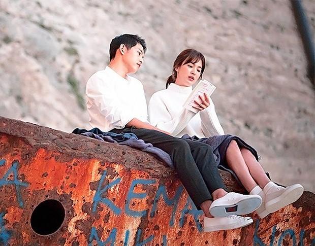 Song Hye Kyo/Sumber:instagram.com/descendantsofthesun.kbs