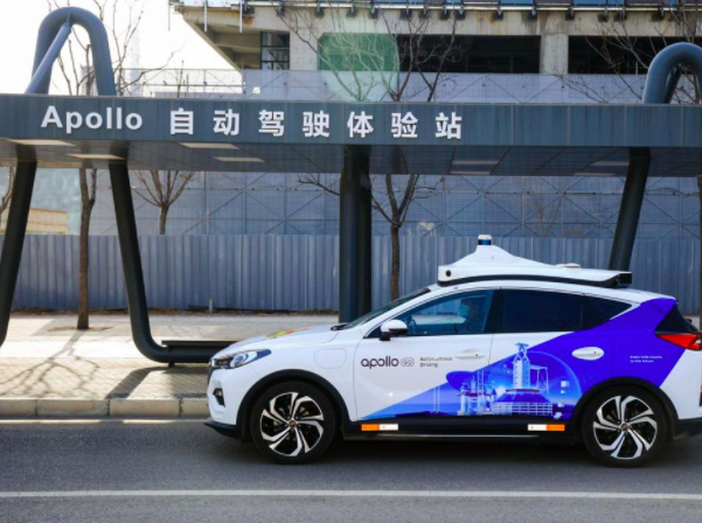 Taksi Tanpa Sopir Baidu Mulai Antar Penumpang