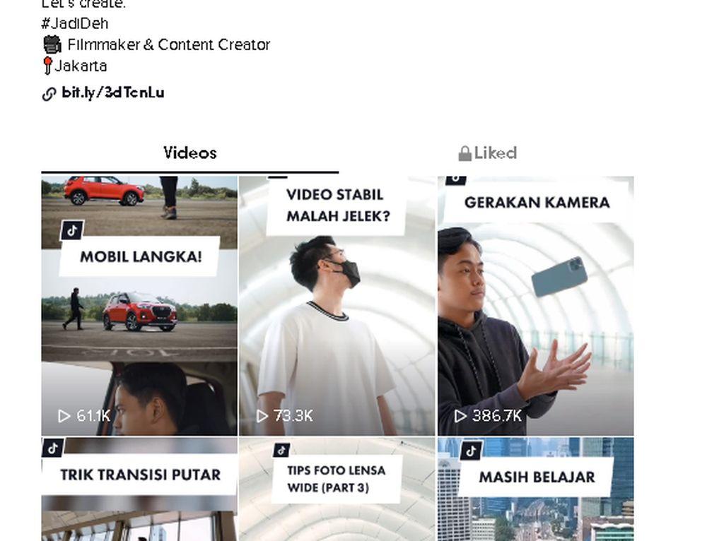 Rekomendasi Belajar Videografi dan Fotografi di TikTok, Cek Akun Ini!
