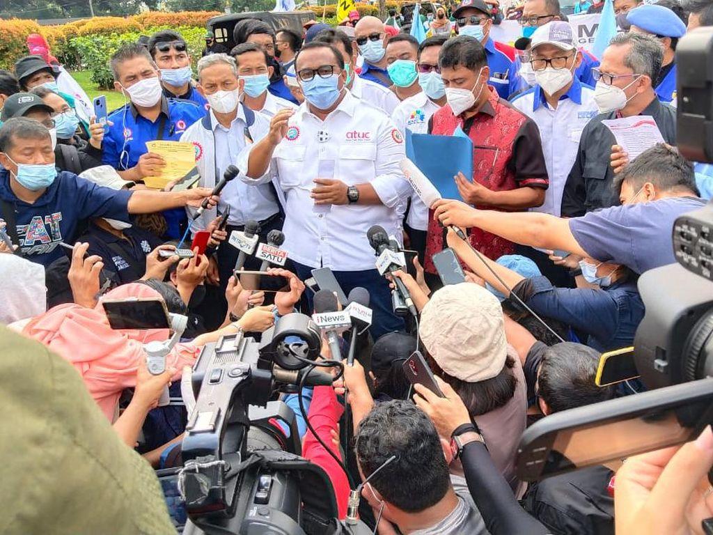 9 Poin Petisi Buruh buat Jokowi