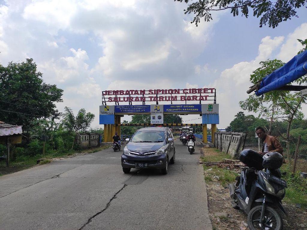 Jalur Tikus Karawang-Bekasi, Ramai Pemudik Malam Hari
