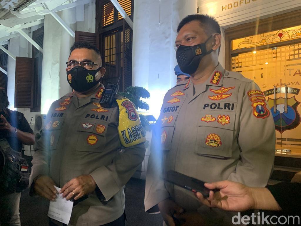 5 Polisi dan 3 Warga Sipil Ditangkap Sedang Pesta Sabu di Hotel Surabaya