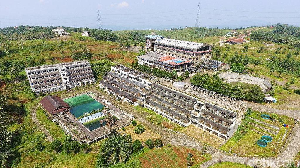 Penampakan dari Udara Lokasi Calon Silicon Valley Indonesia