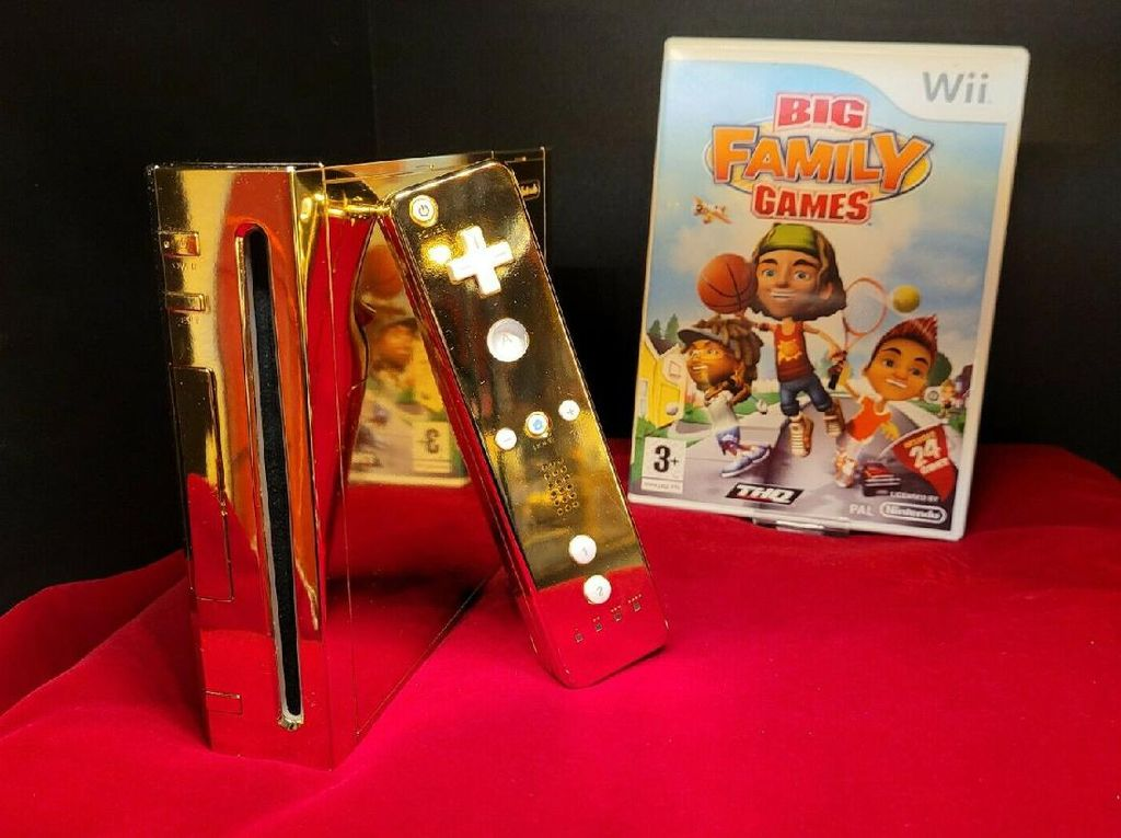 Nintendo Wii Emas untuk Ratu Elizabeth Dijual Rp 4,3 Miliar