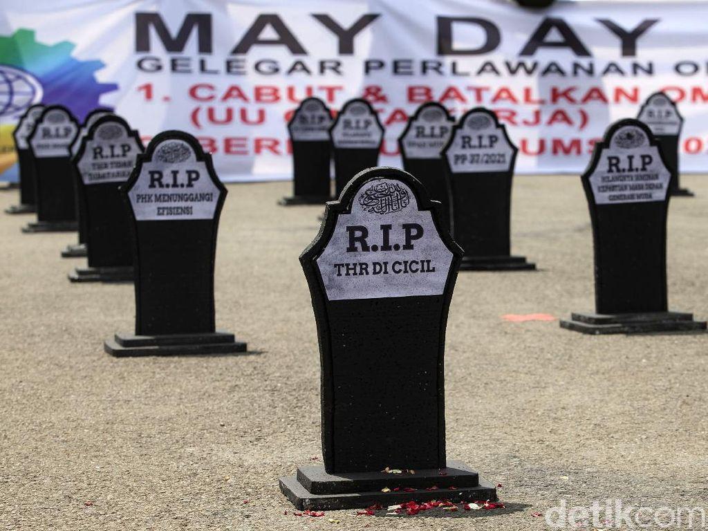 May Day 2021! Ini 9 Petisi Buruh ke Jokowi