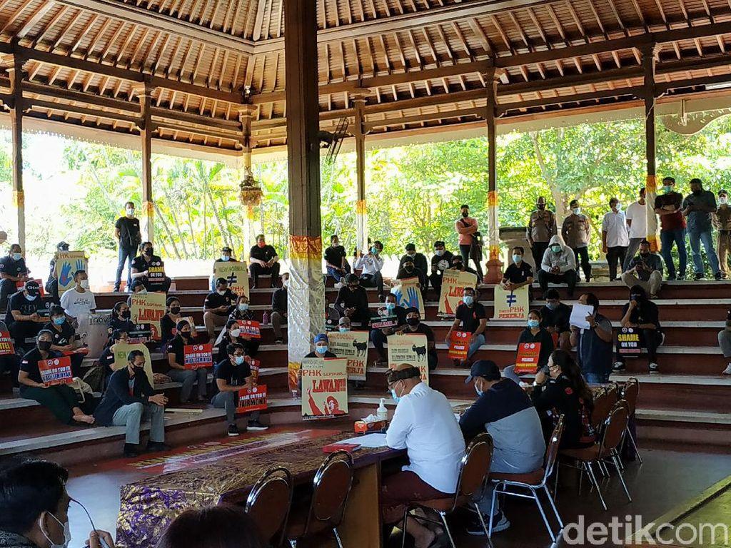 May Day 2021, Buruh di Bali Kecam Pengusaha Kirim Surat PHK Via Pos