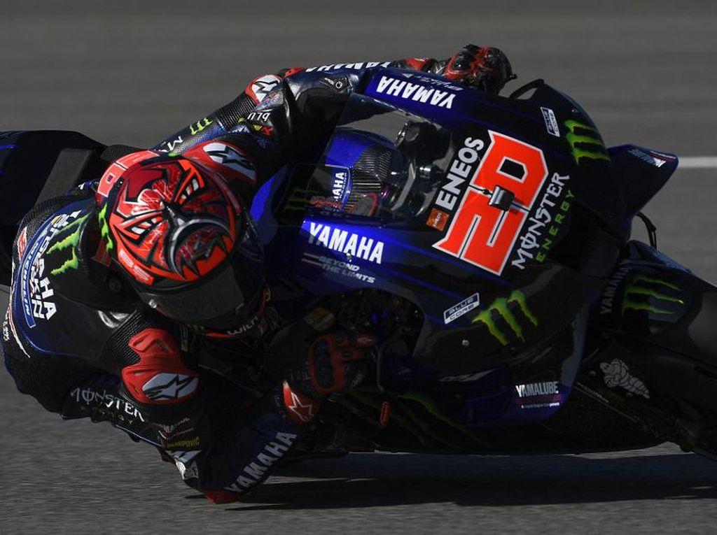 Hasil Kualifikasi MotoGP Spanyol 2021: Quartararo Start Terdepan