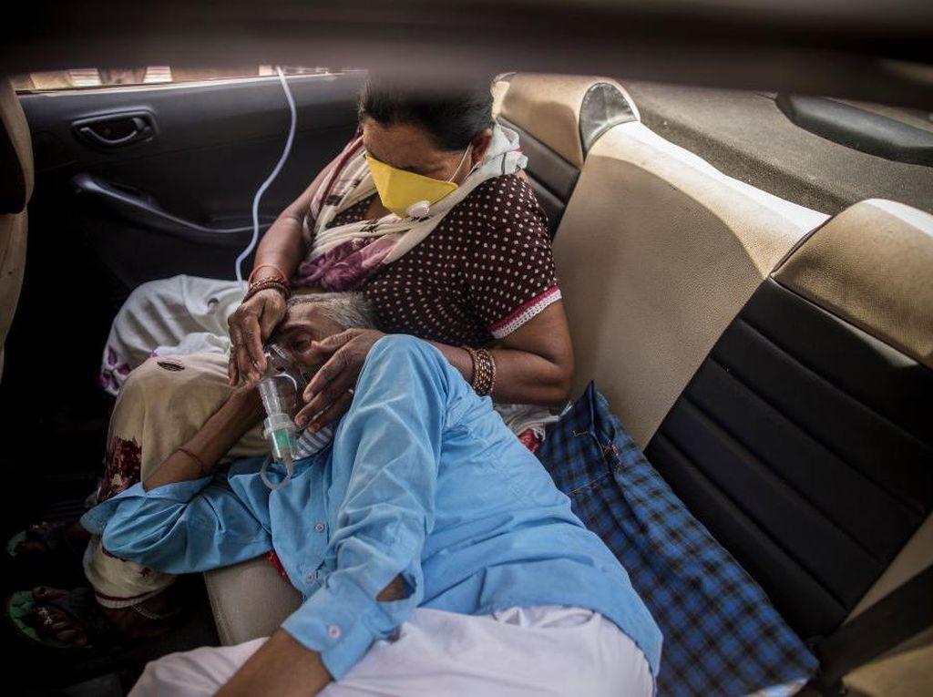 Pasokan Oksigen Bermasalah, India Cetak Rekor Kematian COVID-19