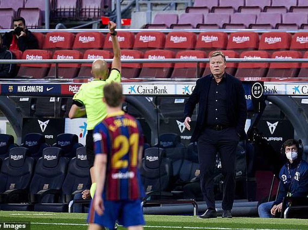 De Jong Berharap Koeman Bertahan di Barcelona