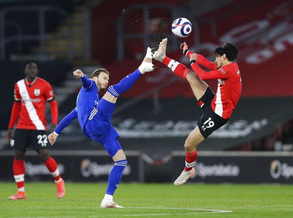 Southampton Vs Leicester: The Foxes Diredam 10 Pemain The Saints