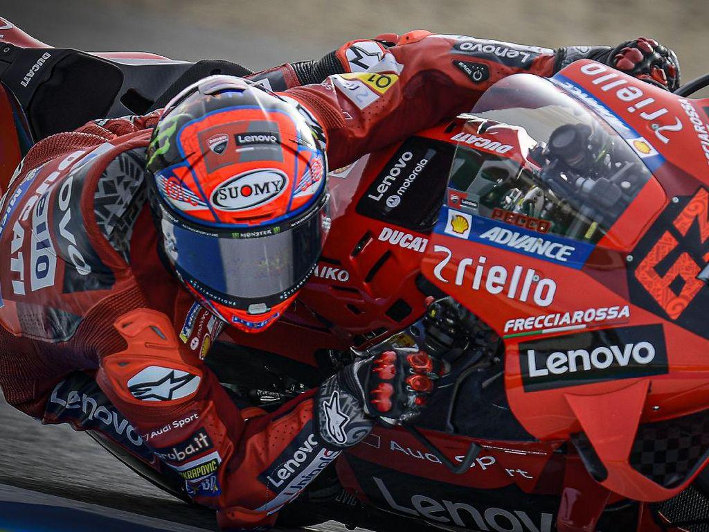 Bagnaia Tercepat di Latihan Bebas Jumat MotoGP Italia