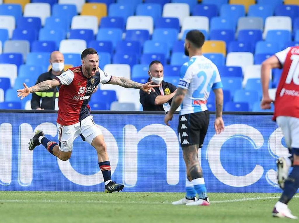 Napoli Vs Cagliari: Tertahan 1-1, Il Partenopei Gagal Gusur Milan