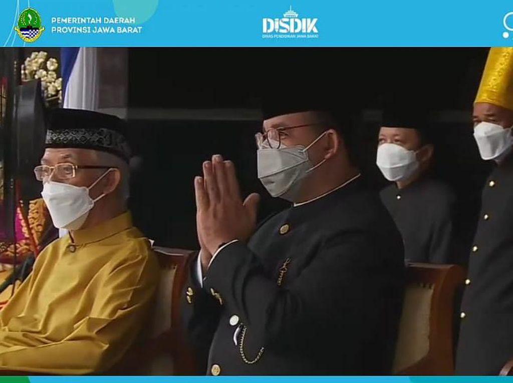 Anies Hadiri Peringatan Hardiknas 2021 sebagai Eks Mendikbud
