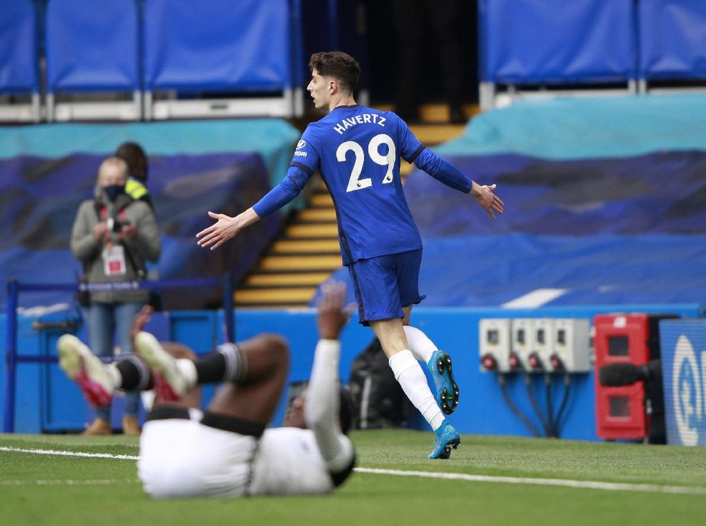 Chelsea Vs Fulham: Havertz Bawa The Blues Unggul 1-0 di Babak Pertama