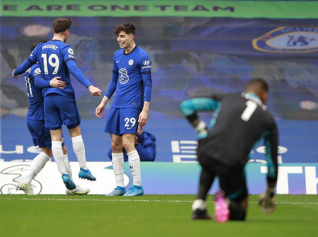 Chelsea Vs Fulham: Kai Havertz Dua Gol, The Blues Menang 2-0