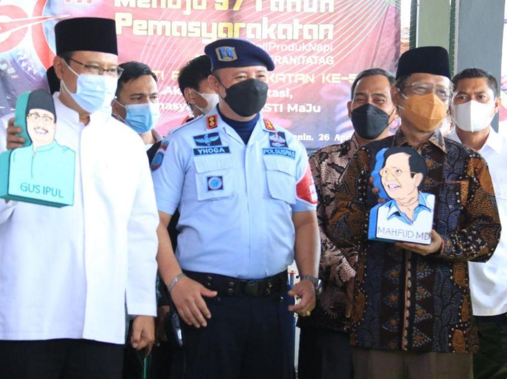 Mahfud MD Setuju Usul Gus Ipul Bangun Lapas Terintegrasi di Kota Pasuruan